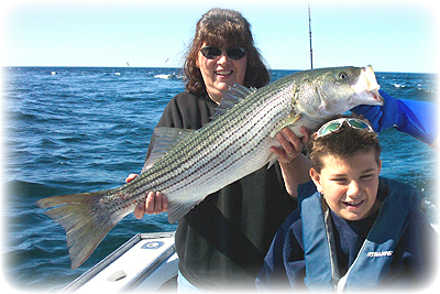 Big Striper and Michelle DeSilva and Travis Sullivan